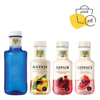 Pack Solán de Cabras + Aguas con vitaminas