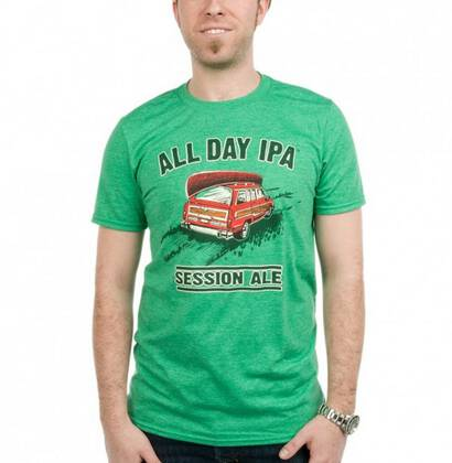 Camiseta All Day IPA Green