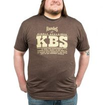 Camiseta KBS Marrón