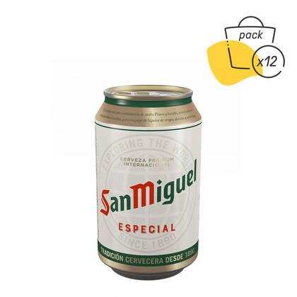 Pack cerveceros inquietos de San Miguel