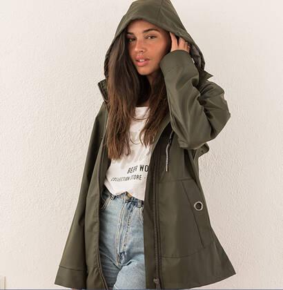 Raincoat grey Rather Explore