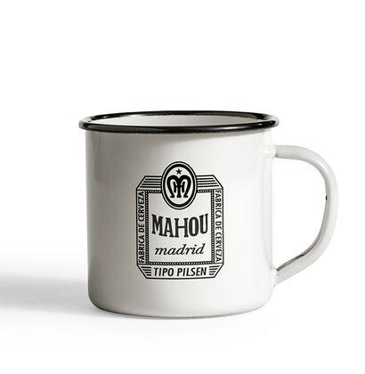 Taza Mahou de peltre Logo 57