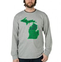 Camiseta Michigan Gris