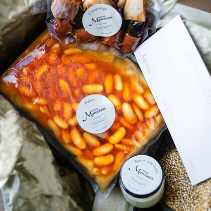 Caja Fabada Catering Manzano