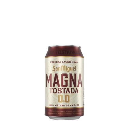 Oferta Magna Tostada 0,0 de San Miguel