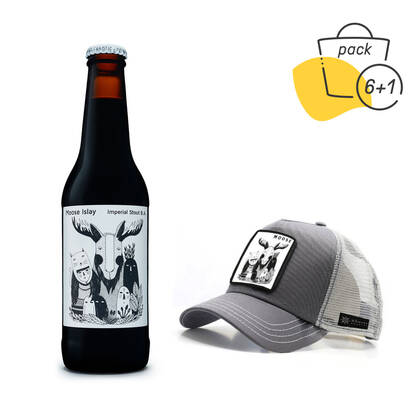 Pack Moose Islay con gorra
