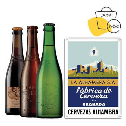Pack Solidario Cervezas Alhambra