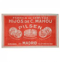 Toalla vintage Mahou Pilsen