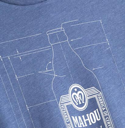 Camiseta Cotas Botella Mahou 1950